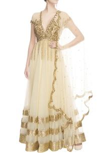 gold-beige-sequin-embroidered-anarkali