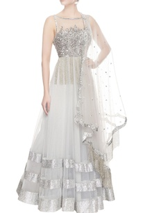 silver-anarkali-gown-with-dupatta