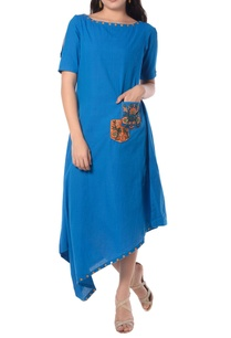 blue-asymmetric-tunic-with-embroidery