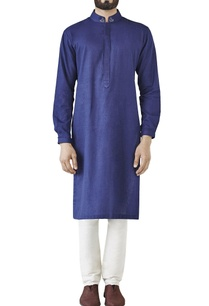 blue-side-panel-kurta
