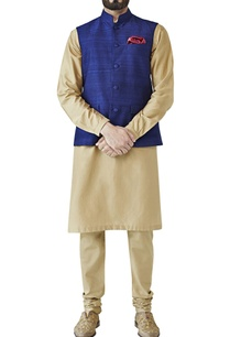 navy-blue-nehru-jacket-with-fabric-buttons