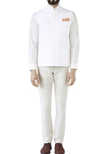 white-cotton-linen-bandi