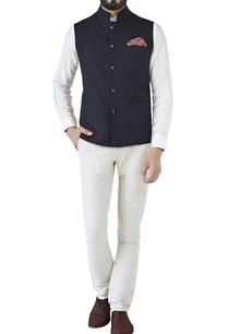 black-nehru-jacket-with-miniature-buttons