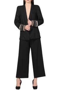 black-blazer-with-chained-cuffs