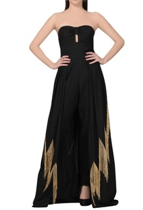 black-jumpsuit-with-fringed-flare