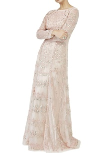 blush-pink-embellished-gown