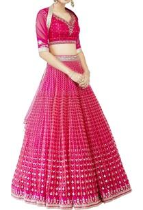 pink-studded-lehenga-set