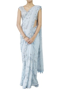 powder-blue-embroidered-sari