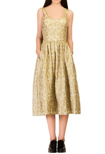 gold-embroidered-dress