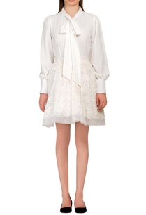 white-embroidered-pouf-skirt