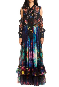 multicolored-digital-print-skirt