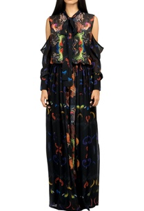 multicolored-digital-print-gown