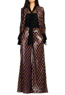 multicolored-sequin-flared-pants