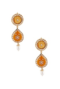 yellow-gold-plated-earrings
