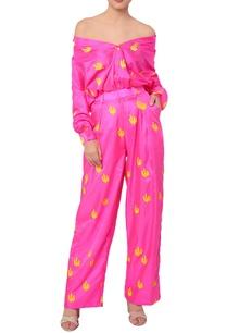 hot-pink-cactus-print-shirt