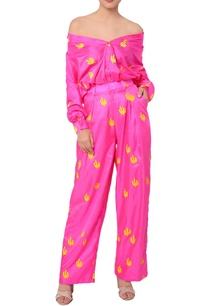 hot-pink-cactus-print-trousers