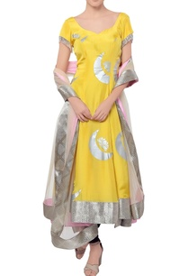 yellow-crescent-moon-anarkali-set