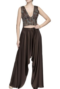 dark-brown-draped-pants