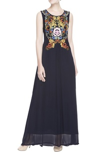 navy-blue-embroidered-maxi-dress