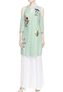 mint-green-embroidered-kurta