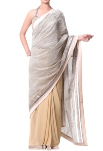 beige-sari-with-metallic-thread-embroidery