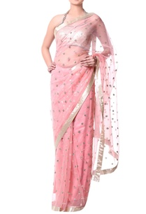 peach-sari-with-sequence-embroidery