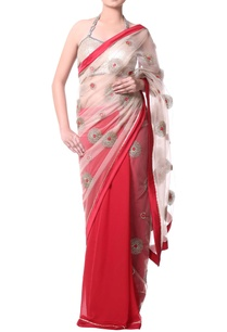 red-sari-with-floral-zari-gold-embroidery