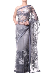 grey-sari-with-floral-jaal-embroidery