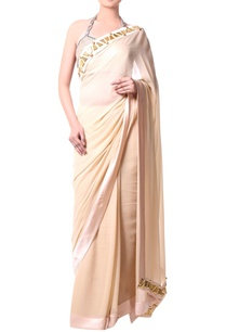 beige-sari-with-metallic-stud-embroidery