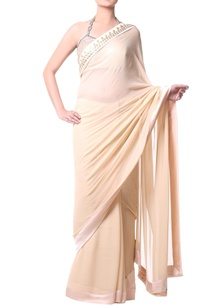 beige-sari-with-metallic-stone-embroidery