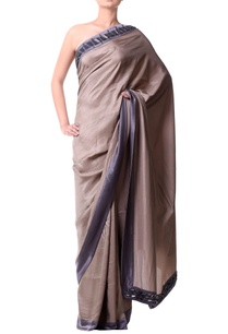 pewter-beige-sari-with-stone-border
