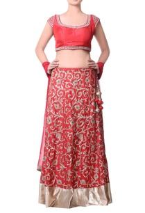 coral-red-lehenga-with-handmade-jaal-embroidery