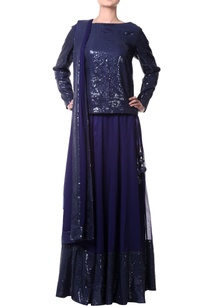 navy-blue-lehenga-with-sequence-border