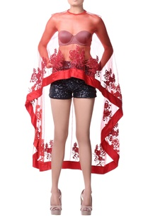 red-net-cape-with-satin-and-sequence-embroidery