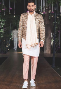 white-kurta-embellished-jacket-set