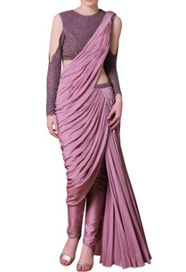 purple-embellished-sari