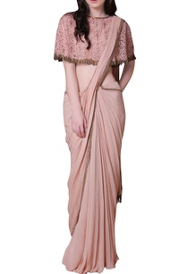 pink-beige-embroidered-sari