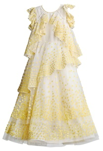 offwhite-ruffled-dress-with-yellow-applique