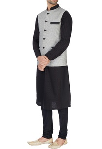 black-white-embroidered-nehru-jacket