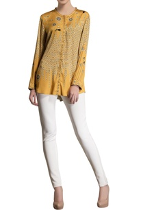 mustard-yellow-printed-top