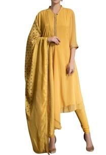 mustard-yellow-kurta-set