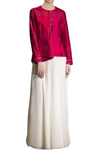 fuschia-pink-embroidered-jacket