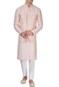 peach-silk-bandi-jacket