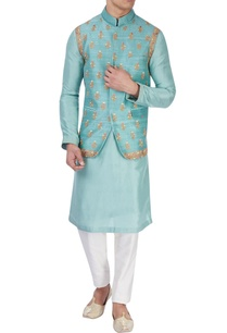 blue-embroidered-bandi-jacket