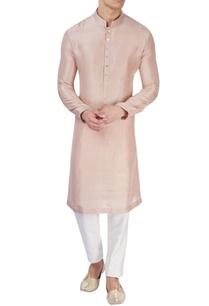pastel-pink-silk-kurta
