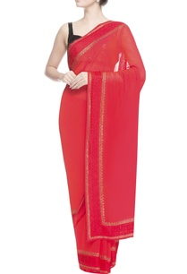red-thread-work-embroidered-sari
