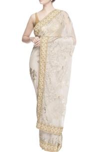 beige-swarovski-embroidered-sari