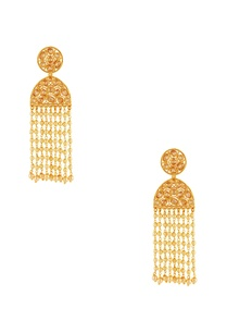 gold-plated-jhalar-earrings