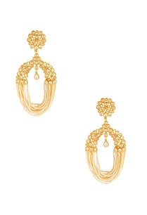gold-white-jhalar-earrings