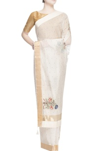 white-thread-embroidered-sari